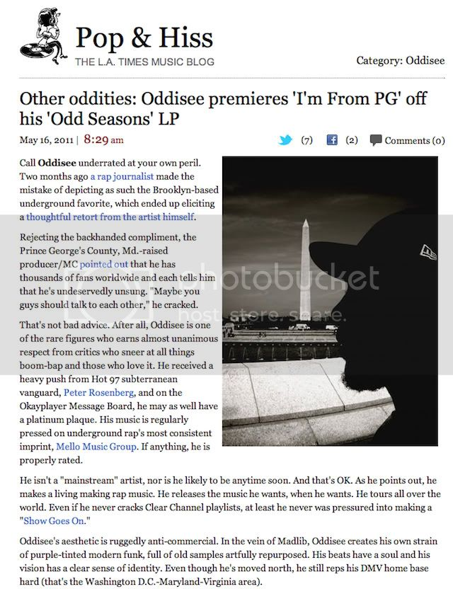 Odd Seasons LA TImes 1